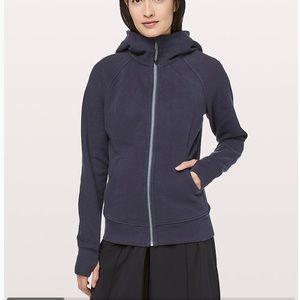 EOC Lululemon Scuba jacket midnight blue